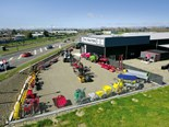 New TRC Tractors showroom in Feilding