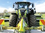 Claas Axion 870 CMATIC test