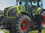 Video: Claas Axion 870 Cmatic
