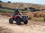 Honda TRX 520 video