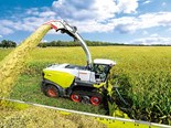 Claas unleashes the tracked Jaguar 990