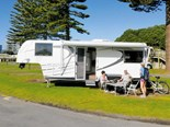 Sunliner fifth-wheeler caravan review
