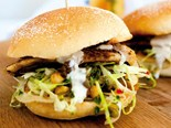 Cumin fish burgers recipe