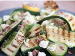 Zucchini and Brussels sprout salad recipe