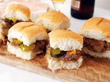 Traditional New York sliders recipe