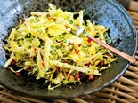 Brussel sprout slaw recipe