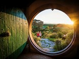 Quick trip to Middle-earth's Hobbiton