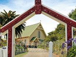 Check out St. Mary's church in the easternmost point of New Zealand
