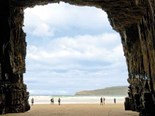 Cathedral Caves on the Catlins Coast