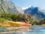Kayaking the Milford Sound