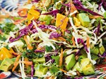 Sticky Mango + Avocado Slaw