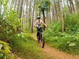 Riding high in Waitangi Mountain Bike Park