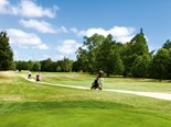Taking the swing at Manawatu Golf Club