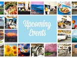 Upcoming events for May - June 2019