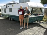 Meeting Rosie & Nick and their 1970's Oxford caravan