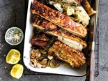 Roast Pork Belly with Fennel Recipe