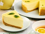 No-bake white chocolate, limoncello and basil cheesecake recipe