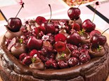 Baked Black Forest Cheesecake Recipe
