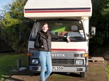 Meeting Dallas & her retro motorhome