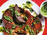 Pumpkin Wedges with Pesto Recipe
