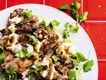 Chermoula Lamb Shoulder with Tahini Sauce Recipe