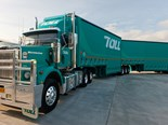 Toll, Linfox 'reluctantly' opposed minimum rates for long-distance truck drivers