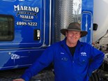 Peter Ward followed his father into the trucking industry.