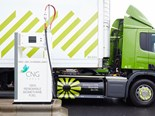 The biomethane-fuelled trucks are cleaner and quieter than their diesel counterparts.