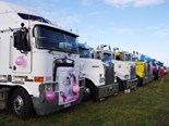 Flashback to 2016: The trucks get set to depart Avalon Airport