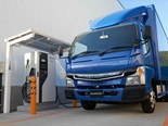 Fuso's 'vision' splendid: electric trucks and new heavy-duty range