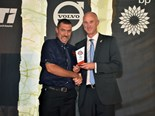 Truckie crowned Bandag Highway Guardian after saving woman's life