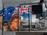 Mick Cleeland's Kenworth K200 is a tribute to his late son Mike