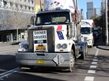 TWU convoys push Safe Rates message