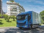 The gas-powered Iveco Eurocargo NP will be on show at the IAA Commercial Vehicle Show in Hanover.