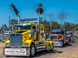 Truckline joins Lights on the Hill Convoy