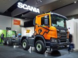 Scania eyes sustainable future at Brisbane Truck Show