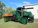 Tony Champion hopes to take his 1919 Mack AC, 'Ethel Mae' to the Mega Mack Muster at Gatton. The restored AC originally carted fuel in the USA.