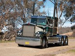 Chris Potbury's 2018 Kenworth Legend 900 on Sylvia's Gap Road