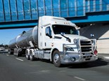 Freightliner Cascadia on trial at Maktrans