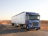 Benz promotes new Actros with online live drive