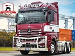 Actros a worthy tribute to Tom Norton