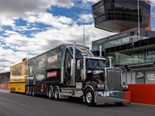 Supercars team pit Kenworth T909 at Bathurst