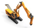 No-swing concept excavator wins Red Dot design award