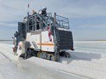 Case study: Harvesting salt with Wirtgen surface miners