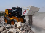 Simex CB Crusher Buckets for Skid Steers