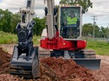 Review: Takeuchi TB280FR zero-swing excavator