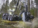 Logset brings out electric-diesel 12H GTE forest harvester