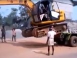 Excavator fail/win part 2