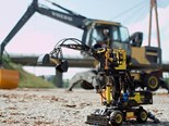 Lego launches Volvo EW160E wheel excavator model