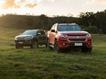 Review: Holden Colorado Z71 v Toyota Hilux SR5 utes